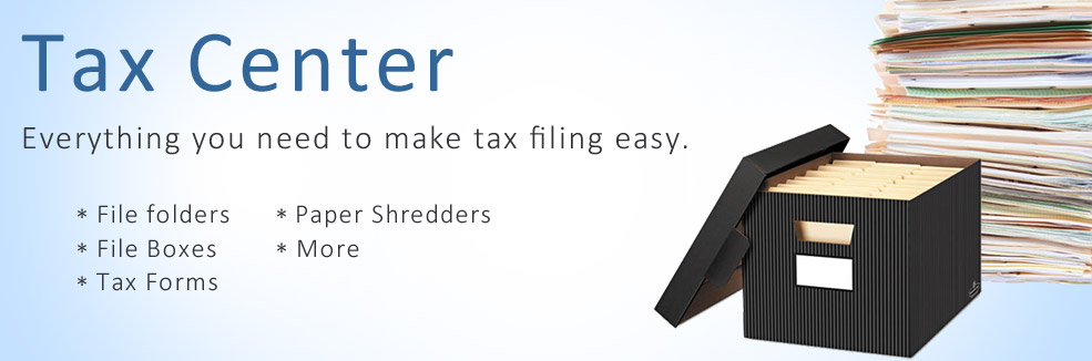 Everything you need to make tax filing easy!