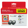Canon Ink and Paper Combo Pack PG-210XL, CL-211XL and Photo Paper Glossy - ink tank / paper kit