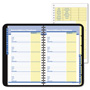 At-A-Glance QuickNumbers Phone/Address Book, Wirebound, 4-7/8x8, Black