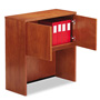 "Alera Cherry Verona Veneer Series Enclosed Storage Hutch, 48""w x 15""d x 36""h"