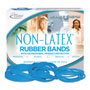 "Alliance Rubber Antimicrobial Rubber Bands, Latex Free, 7"" x 1/8"""