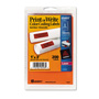 "Avery Self Adhesive Removable Labels, Rectangular, 1""x3"", Red Neon, 200 per Pack"