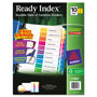 Avery Index Tabs, 1-10, Multicolor