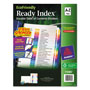 Avery Index Tabs, A-Z, Multicolor