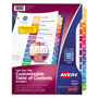 Avery Ready Index® Index Tabs, Multicolor
