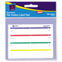 "Avery Permanent Label Pads, 2/3""x3 7/16"", White, 160 per Pack"