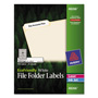 "Avery Eco-friendly Labels, 2/3""x3 7/16"", White, 750 per Pack"