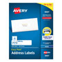 "Avery White Ink Jet Mailing Labels, 1""x4"", 2,000 per Pack"