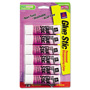 Avery Purple Application Permanent Glue Stics, .26 Oz, 6 per Pack