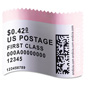 Dymo LabelWriter Postage Stamp Labels, 1-5/8 x 1-1/4, White, 200/RL