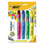 Benchmark Graphics Grip XL Highlighter, Four Color Set, Fluorescent Colors
