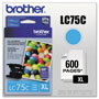 Brother Ink Cartridge, 600 Page Yield, Cyan