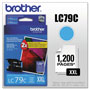 Brother Ink Cartridge, 1, 200 Page Yield, Cyan