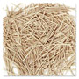 Chenille Kraft Flat Wood Toothpicks, Wood, Natural, 2500/Pack
