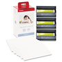 Canon KP-108IN Color Ink Ribbon With Glossy 4 x 6 Photo Paper Pack