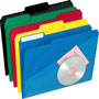 TOPS Hot Pocket Colored Poly Folders, Letter, Asst. 1/3 Cut Top Tabs, 25/Bx