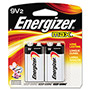 Energizer 522BP-2 Alkaline Batteries, 9V
