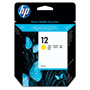 HP 12 Yellow Ink Cartridge ,Model C4806A ,Page Yield 3300
