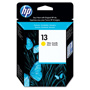 HP 13 Yellow Ink Cartridge ,Model C4817A ,Page Yield 1000