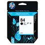 HP 84 Black Ink Cartridge ,Model C5016A ,Page Yield 1430