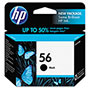 HP 56 Black Ink Cartridge ,Model C6656AN ,Page Yield 450