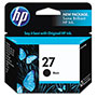 HP 27 Black Inkjet Cartridge, Model C8727AN, 220PGS Page Yield