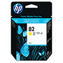 HP 82 Yellow Ink Cartridge ,Model CH568A ,Page Yield 440