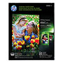 HP Everyday Semi-Gloss Photo Paper, 8-1/2X11""