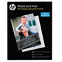 HP Photo Card Pack, Assorted Sheet Size, 10 Envelopes, White