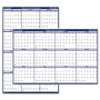 "House Of Doolittle Wall Planner, Laminated, 12 Month, July-June, 18""x24"""