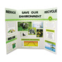 Hunt Display Board, 36 x 48, White, 25 Boards/Carton