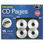 Ideastream FindIt Hanging CD Pages, 11 1/4 x 13 x 3/4, Black