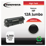 Innovera Remanufactured Q2612X (12AJ) Extra High-Yield Toner, Black