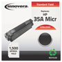 Innovera B435AM Compatible Remanufactured MICR Toner, 700 Page-Yield, Black