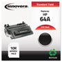 Innovera Remanufactured CC364A (64A) Toner, Black
