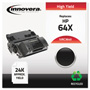 Innovera Remanufactured CC364X (64X) High-Yield Toner, Black