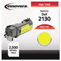 Innovera Remanufactured 330-1438 (2130) High-Yield Toner, Yellow