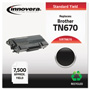 Innovera Remanufactured TN670 High-Yield Toner, Black