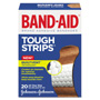 Band Aid Flexible Fabric Tough Strips Adhesive Bandages, 1 x 3 1/4, 20/Bx