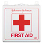 Johnson & Johnson First Aid Kit for Up to 50 People, Wall Mountable, 225 Pieces