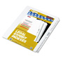 Kleer-Fax 76-100 Index Tabs, White