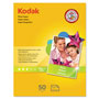 Kodak Photo Paper, Gloss, 8.5x11, 50 Sheets