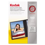 Kodak Photo Paper, Gloss, 4 x 6, 100 Sheets