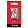 Lexmark Inkjet Cartridge Photo Color #40