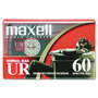 Maxell 60 Minutes (30 x 2) Dictation And Audio Cassette, Normal Bias