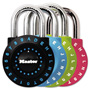 "Master Lock Company Set-Your-Own Combination Lock, Steel, 1 7/8"" Wide, Assorted"