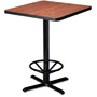 Mayline Table Top, 36w x 36d, Square, Mahogany