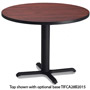"Mayline Table Top, 42"" Round, Mahogany"