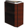 Mayline Eclipse Series False Pedestal for Credenza Top, 15w x 24d x 27-3/4h, Warm Cherry