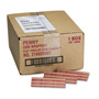 MMF Industries Flat Kraft Paper Coin Wrappers, Holds 50 Pennies, Red, 1000/Box
